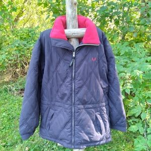 fred perry sportwear lined jacket